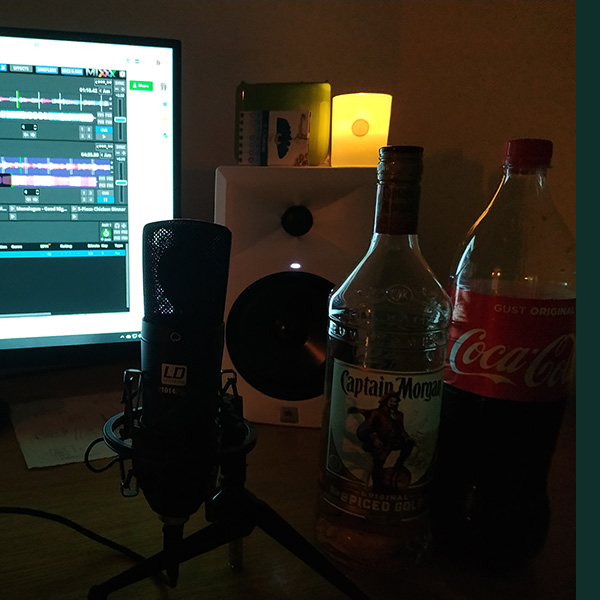 Episode 9 - Captain Morgan and Coke with Candles and Incense
